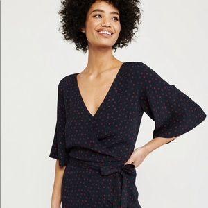 Abercrombie Kimono Sleeve Jumpsuit XXSP